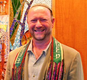Arnie Sleutelberg is celebrating his 25th year as a rabbi.