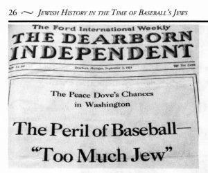 Henry Ford's anti-Semitic Dearborn Independent of Sept. 3, 1921