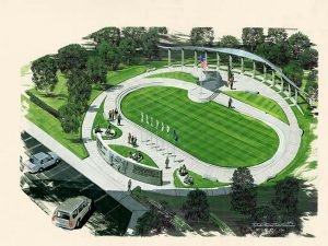 A rendering of the Memorial