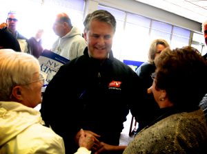 Schostak at an event in Muskegon