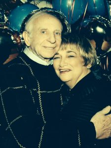 Shulman and his wife, Passie, shown at their grandson's bar mitzvah, recently celebrated their 56th wedding anniversary.