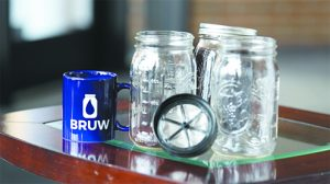 BRUW filter for perfect cold-brew coffee