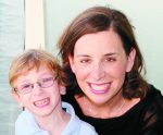 Jen Lovy and son Evan
