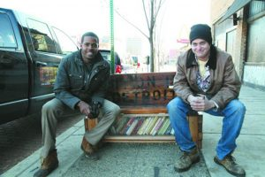 Sit On It Detroit founders Kyle Bartell and Charles Molnar