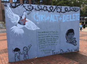 """The """"Apartheid Wall"""" erected on Rosh Hashanah at the University of Michigan (michiganreview.com)"""