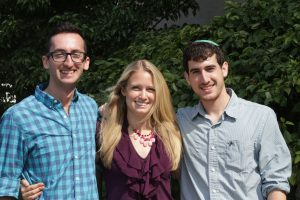 Ramah Fellows: Eli Jacober, Darrien Sherman and Hillel Buechler will live in a communal house in Ferndale.