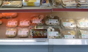 Healthy  options  from Fresh Corner Café