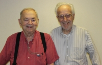 Seymour Ungar and Mort Horwitz started the Men's Club at Hechtman Apartments.