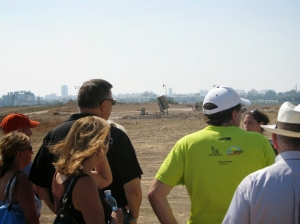 Visiting an Iron Dome battery