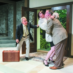 The Tipping Point Theatre production of Don't Dress For Dinner, running September 15 - October 23, 2016 in Northville, Michigan. (Photo by Steve Fecht)
